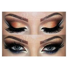 Arabic MakeUp By Mel S ❤ liked on Polyvore featuring beauty products and makeup