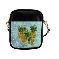 Pineapples Sling Bag (Model 1627)