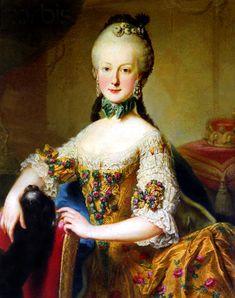 Archduchess Maria Elisabeth of Austria (1743–1808) 1760's
