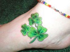 irish shamrock tattoos for women irish wrists tattoos for women irish ...