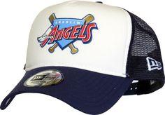 Anaheim Angels New Era MLB Coast 2 Coast Trucker Cap – lovemycap 5af8c457c62
