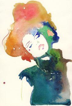 Fashion Illustration + Watercolor