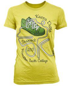 ec8c040d5 Kappa Delta Shamrock 5K T-shirt kappa delta www.greekt-shirtsthatrock.com