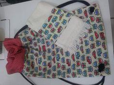 sacolinha de costas com toalhinha, fiz para um garotinho  que adora garimpar pedrinhas.