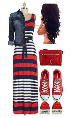 """Pentecostal outfits"" by lizzie2461 ❤ liked on Polyvore featuring MANGO, Converse and ALDO #dressescasual"