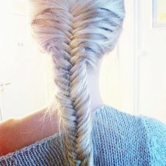 #fishtail frenchbraid