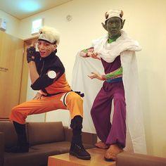 Jonghyun & Key in their Halloween costumes!