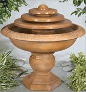 Barrington Triple Disc Fountain..www.thewaterfountainstore.com - $1,000 - 6pc. ~ bought for our house!!