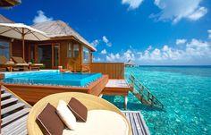 Ocean Bungalow. Huvafen Fushi Maldives. © Per AQUUM