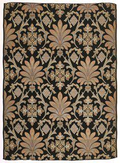 Peri, by Owen Jones, 1870 Curtain Patterns, Textile Patterns, Textile Prints, Textile Design, Print Patterns, Surface Pattern Design, Pattern Art, Abstract Pattern, Gothic Pattern
