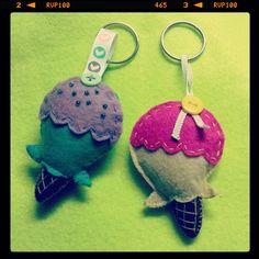 #icecream #felt #handmade #craft