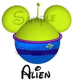 Little green Alien from Toy Story inspired by SwirlyColorPixels, $3.00 Yes!!