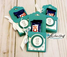 Tag Topper candy holder