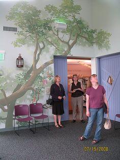 like the tree mural