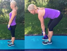 Don't let knee pain keep you from being active! These 10 lower-body exercises will strengthen your knees and help combat pain!