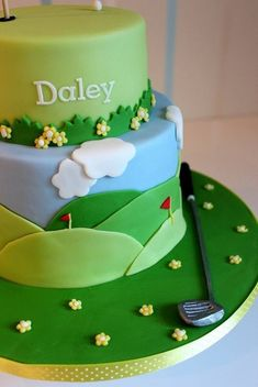 golf cake - Google Search