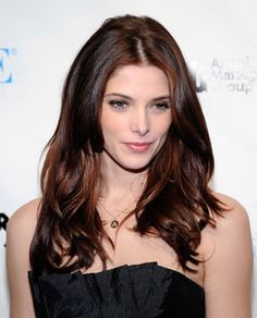 Red Hot Ashley Greene Celebrates 24th Birthday With Fiery Hair In Sin