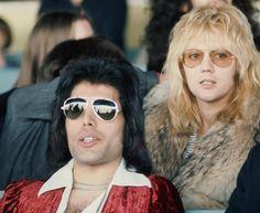 Freddie Mercury, Roger Taylor of Queen