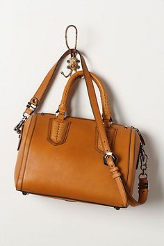 Final Boarding Bag #anthropologie    I want a structured top handle bag like this BADLY.