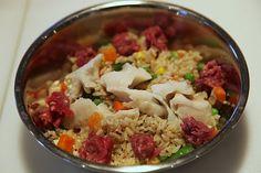 Martha Stewart's homemade dog food. Maybe a nice birthday dinner for her :)