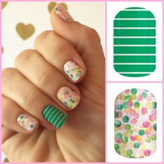 Arcade and Out of Focus Jamberry Nail Wraps