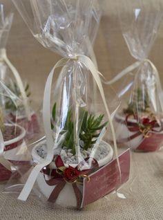 decoracion de souvenirs con suculentas - Buscar con Google