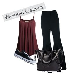 """""""Comfy chic"""" by jojokarina on Polyvore featuring STELLA McCARTNEY and Converse"""