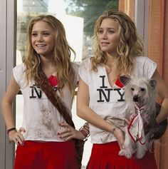 Mary-Kate and Ashley taught us that I <3 NY tees are always a good idea in New York Minute.