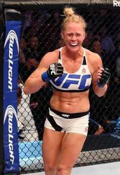 And new! Holly Holm UFC Woman's Bantamweight Champion