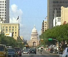 City of Austin in Texas Capital Building.