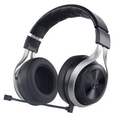 Best Buy: LucidSound Wireless Stereo Over-the-Ear Gaming Headset for PlayStation Xbox One and Select Mobile Devices Black/Silver 852888006021 Ps4, Playstation, Best Gaming Headset, Gaming Headphones, Wireless Headset, Surround Sound Headphones, Consoles, Best Surround Sound, Xbox One Pc