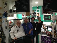 SHOP 3 IN ABBOTT SQUARE has good food, coffee and fruit juice. It was wonderful to catch up with owner Chris and his wife (and my friend Petra Lovey). Business confidence is picking up in Cairns CBD and Abbott Square (Cnr Abbott and Shields) is a good example of this. #Cairns #CairnsCBD #Shop3