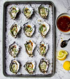 Do you love oysters like I do? Try these oysters with yuzu soy dressing! Only 5 ingredients required to make the dressing with no cooking involved. Perfect for that summer outdoor party!