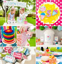 Isn't this summery Snow Cone Themed Party by Lauren Haddox Designs just too cool!? It's definitely giving us chills ;) ‪#‎SnowCone‬ ‪#‎Summer‬ ‪#‎Party‬ http://hwtm.me/14BLLlx