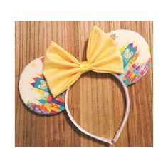 Smallest World Mouse Ears by ShopHouseOfMouse on Etsy, $26.00