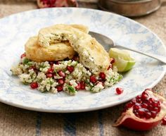 Bulgar wheat salad with fried herb feta | Recipes | Eat Out