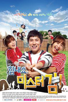 [TV Series] Cheer Up, Mr. Kim (힘내요 미스터 김) / Call Number: DVD CHEER [KOREAN] 1-62  &  DVD CHEER [KOREAN] 63-124
