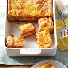 Antipasto Bake Recipe -Stuffed with savory meats and cheeses this hearty bake w