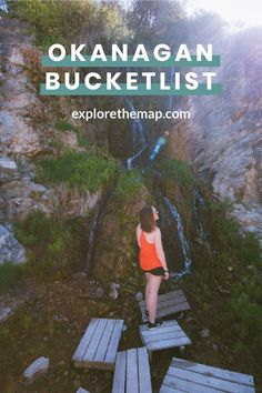Looking for easy hikes in Kelowna? Check out these awesome hikes that are perfect for all skill levels. You'll love your next adventure! Cool Places To Visit, Places To Travel, Hiking Places, Hiking Trails, Hiking Guide, Explorer, Beautiful Waterfalls, Canada Travel, Amazing Destinations
