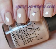 """OPI Germany Collection Fall 2012 """"Don't Pretzel My Buttons"""""""