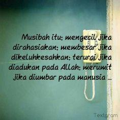 Musibah...