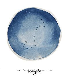 Scorpio constellation ★