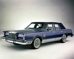 """LincolnMotorCar Showcase (@badwf) on Instagram: 1983 Lincoln Continental Mark VI """"Pucci Edition"""" of the """"Designer Series""""  #Lincoln #Continental…"""""""