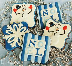 winter squares (lilaloa) --- love the noel one
