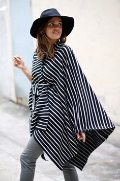 DIY No Sew Blanket Cape