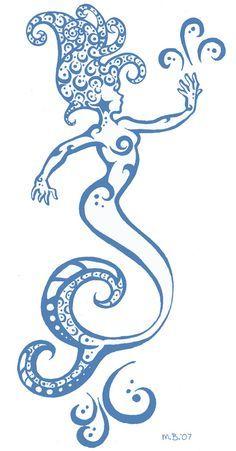 yemaya symbol tattoo - Google Search