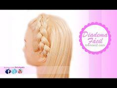Diadema con Trenzas Faciles y Bonitas para cabello largo y corto