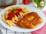 Recette Escalope milanaise de veau Italian Recipes, French Toast, Lunch, Chicken, Meat, Cooking, Breakfast, Food La, Google Search