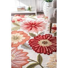 Pink Flower Bouquet, Pink Flowers, Oversized Area Rugs, Rectangle Area, 8x10 Area Rugs, Rugs Usa, Buy Rugs, Round Rugs, Rugs