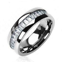 Titanium On The Rocks Ring Get Your's Here #BuyBlueSteel #Ring #WeddingRing #Men #Women